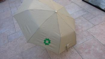 Paraguas beige